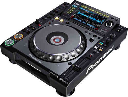 Profi DJ CD-Player - Pioneer CDJ-2000 Nexus - Tagesmietpreis